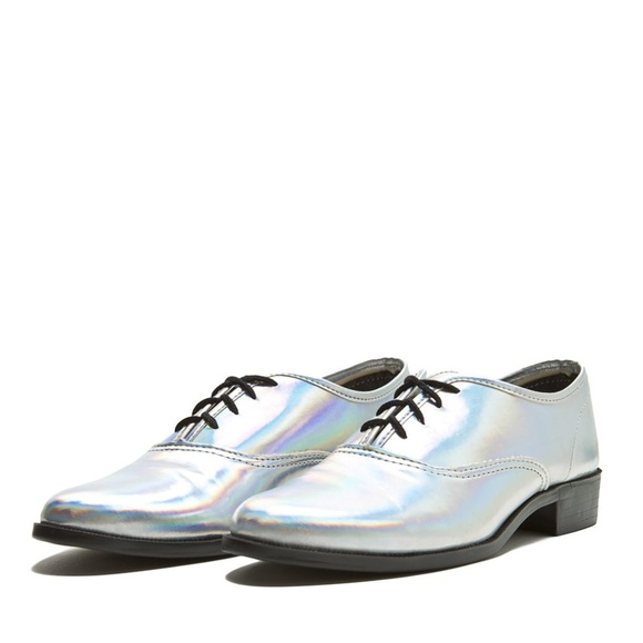a9fc771a81 American Apparel Shoes | New Holographic Rainbow Oxfords | Poshmark